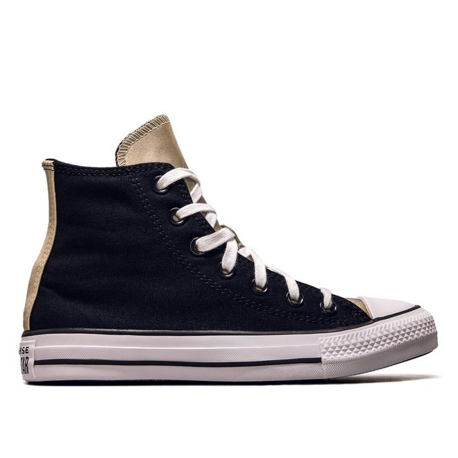 Damen Sneaker - CTAS Hi Mono Metal - Black