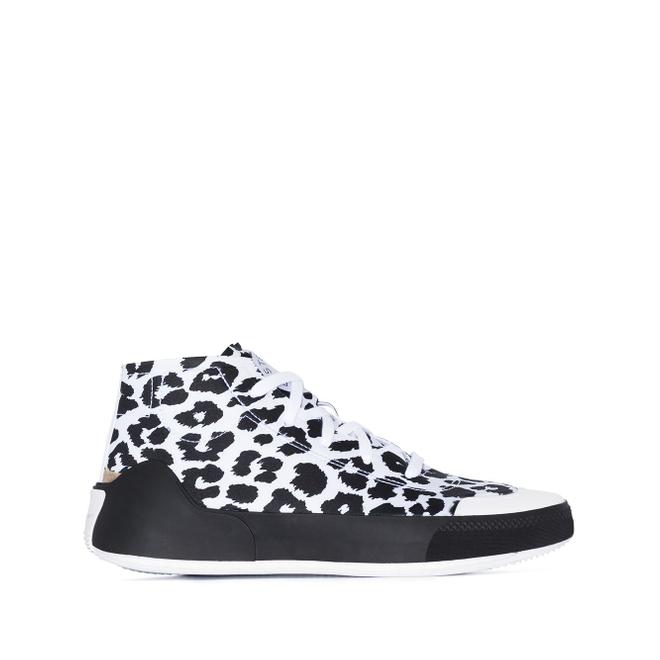 adidas by Stella McCartney Treino leopard print high-top