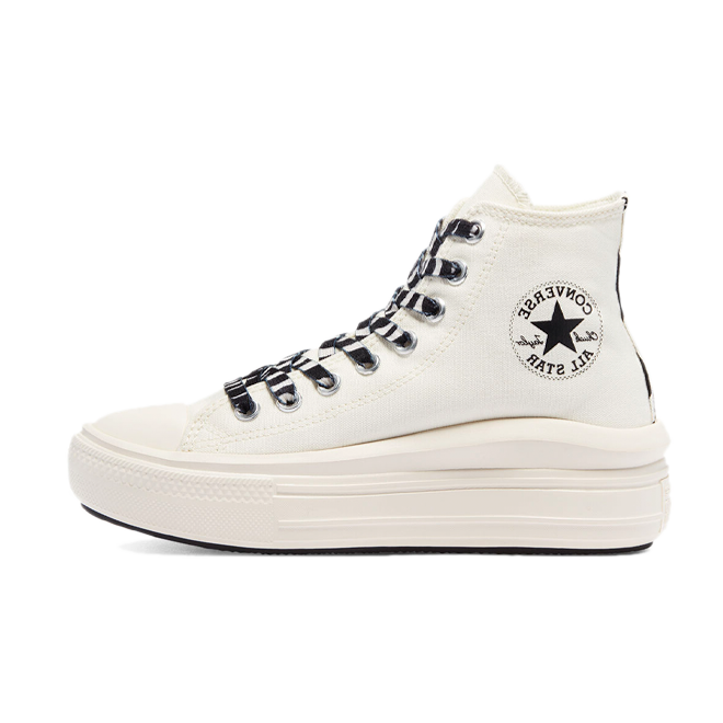 Converse Chuck Platform Move Archive prints 'White'
