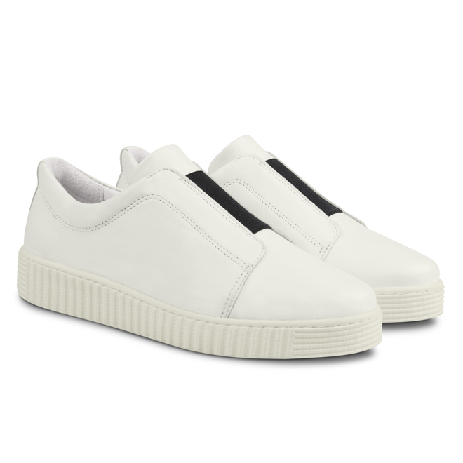 LaShoe Sneaker mit Kontrastgummi Weiẞ