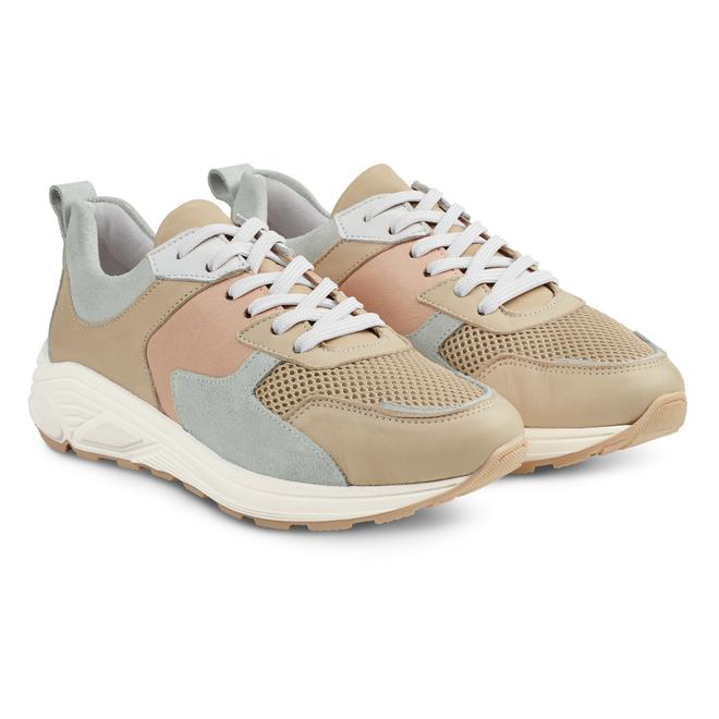 LaShoe Chunky Sneaker Taupe
