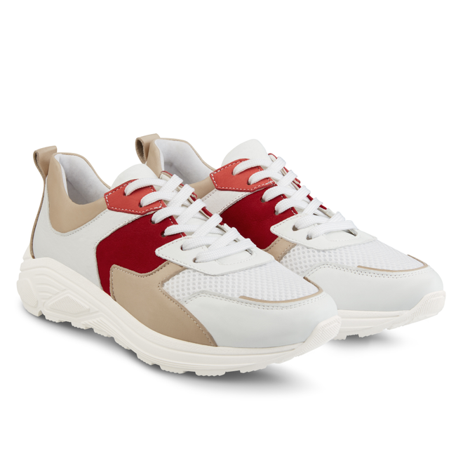 LaShoe Chunky Sneaker Beige