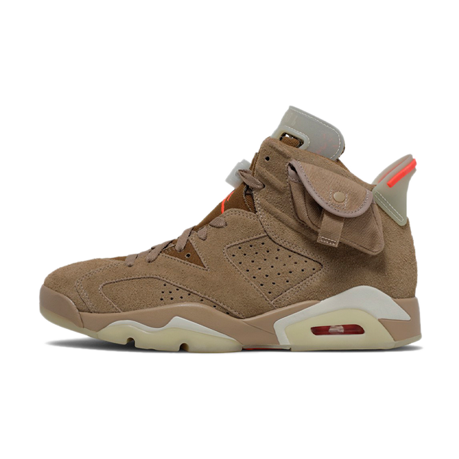 Travis Scott X Air Jordan 6 'British Khaki' DH0690-200
