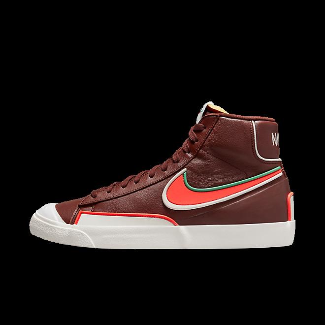 Nike Blazer Mid '77 Infinite Bronze Eclipse/ Bright Crimson-Light Bone