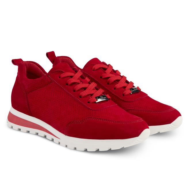 LaShoe Sneaker Leder Classic Rot