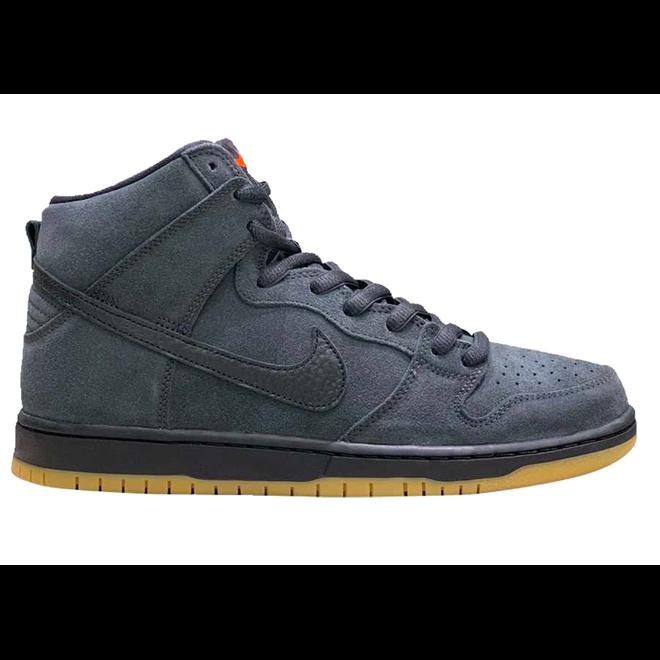 Nike SB Dunk High Pro Orange Label Smoke Grey