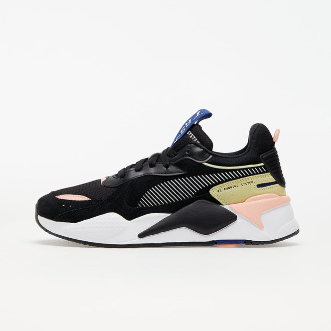 Puma RS-X Reinvent Wn's Puma Black-Apr Blush-Yellow Pear