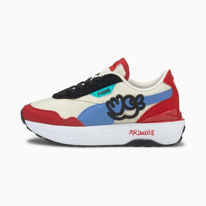 Puma Puma X Mr Doodle Cruise Rider Sneakers Dames