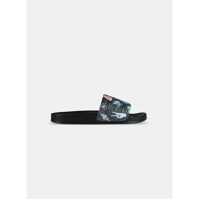 Adidas Adilette Graphic Core Black GS