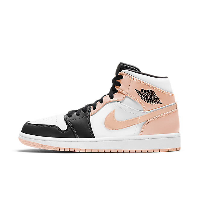 Air Jordan 1 Mid 'Arctic Orange Toe'