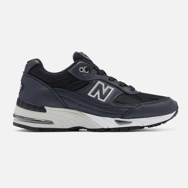 New Balance Made in UK 991 - Gunmetal with Off White