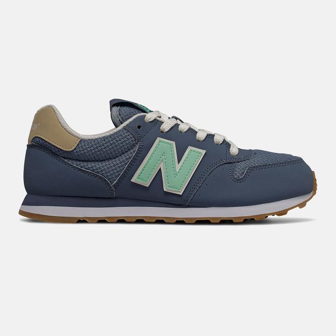 New Balance 500 - Vintage Indigo with Neo Mint and Deep Porcelain Blue