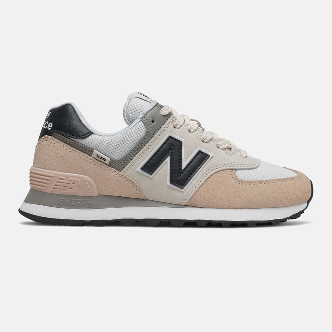 New Balance 574 - Rose Water with Black