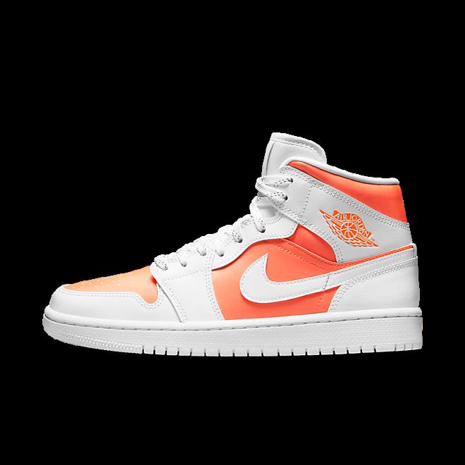 Air Jordan 1 Mid SE 'Bright Citrus' zijaanzicht