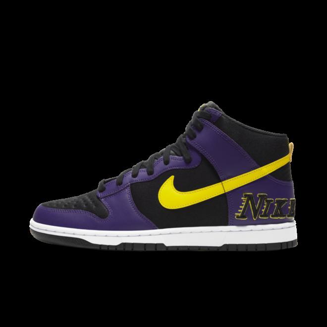 Nike Dunk High EMB 'Court Purple' zijaanzicht