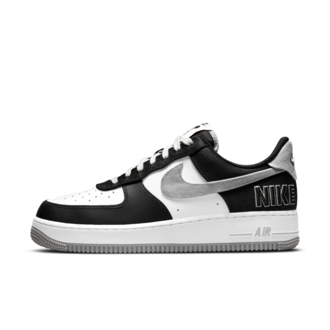 Nike Air Force 1 EMB 'Black & White' CT2301-001