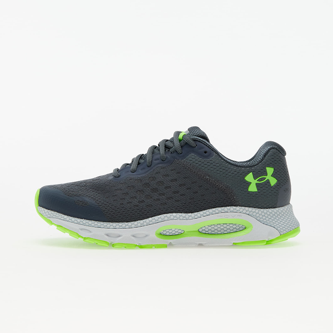 Under Armour HOVR Infinite 3 Pitch Gray/ Halo Gray/ Hyper Green