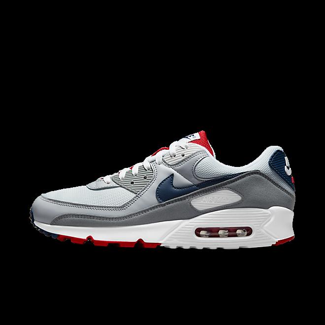Nike Air Max 90 'PURE PLATINUM NAVY'