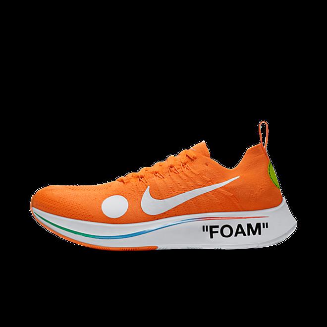 OFF WHITE x Nike Zoom Fly Mercurial Flyknit 'Orange'
