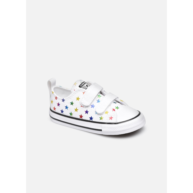 Archive Foil Easy-On Chuck Taylor All Star Low Top voor peuters