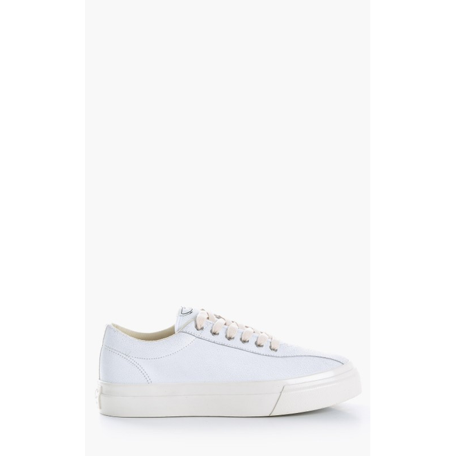 Stepney Workers Club Dellow Crack Leather White