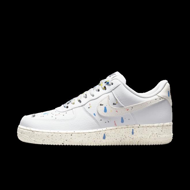Nike Air Force 1 '07 LV8 'Paint Splatter' - White
