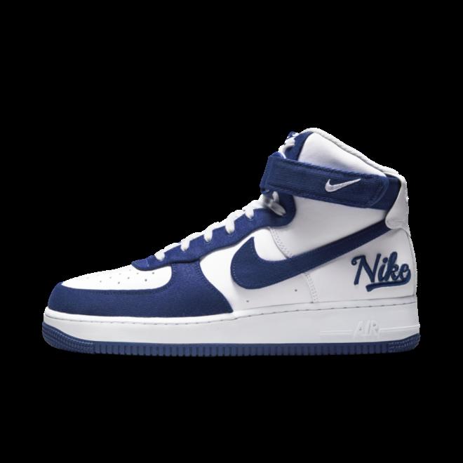 Nike Air Force 1 High EMB 'Dodgers' DC8168-100