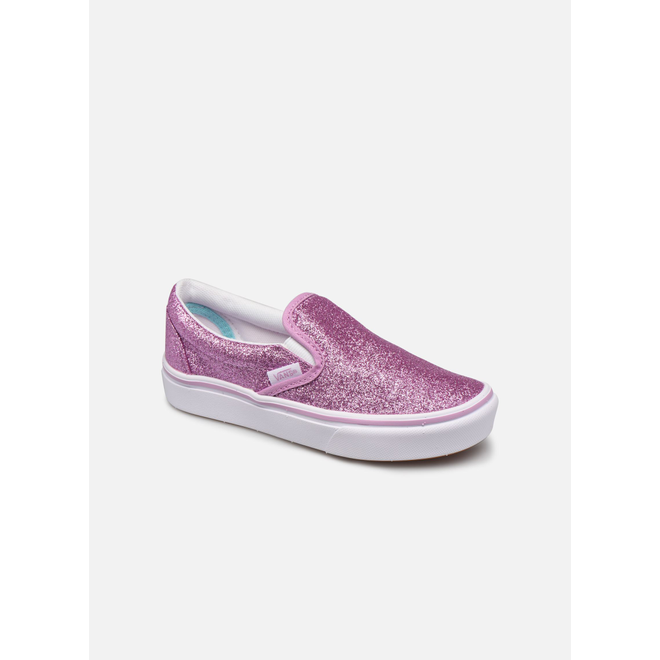 Vans uy comfycush slip-on (glitter) orchi