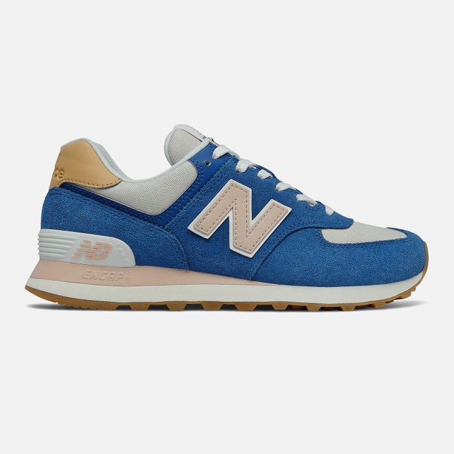 New Balance 574 - Atlantic with Rose Water