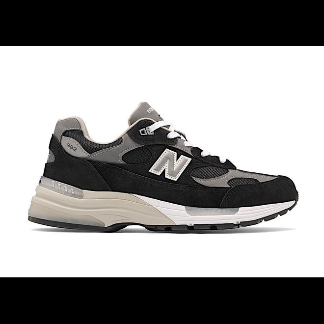 New Balance 992 Black Suede