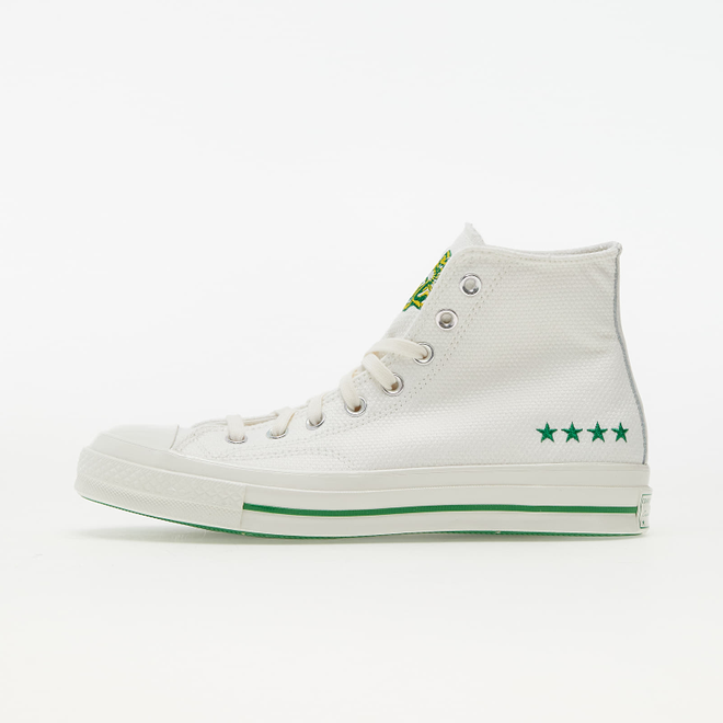 Converse Chuck 70 Vintage White/ Green/ Amarillo