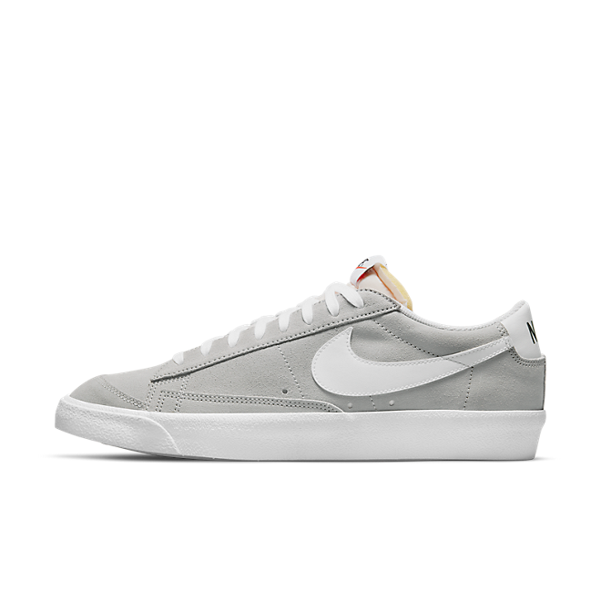 Nike Blazer Low '77 Lt Smoke Grey/ White-White
