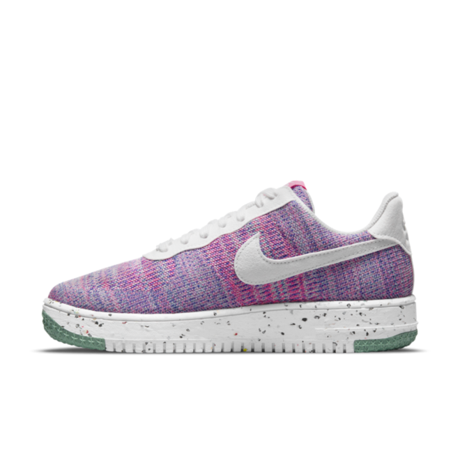 Nike Air Force 1 Crater FlyKnit 'Fuchsia Glow'
