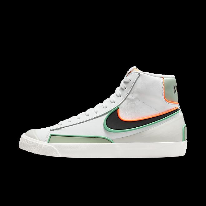 Nike Blazer Mid '77 Infinite White/ Black-Jade Smoke-Roma Green