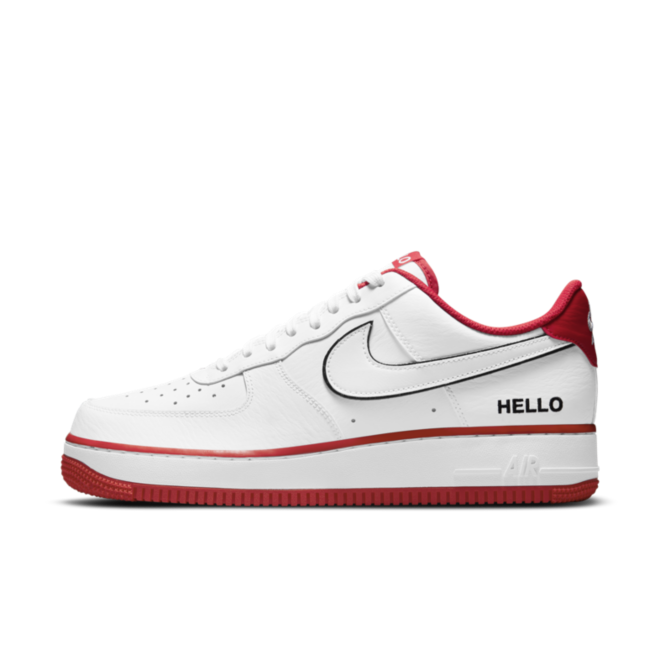 Nike Air Force 1 'Hello My Name is' - White
