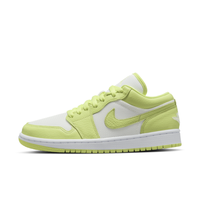 Air Jordan 1 Low SE V2 'Limelight' zijaanzicht
