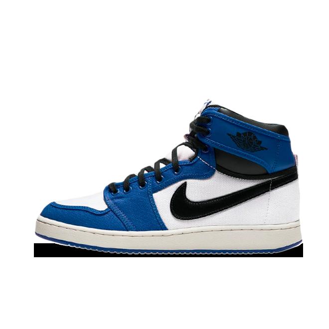 Air Jordan 1 KO 'Storm Blue' zijaanzicht