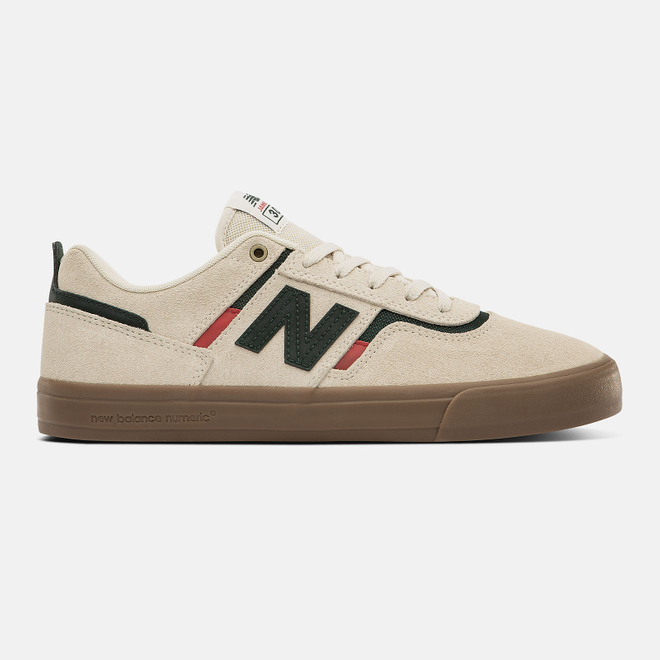 New Balance Numeric NM306 - White with Green