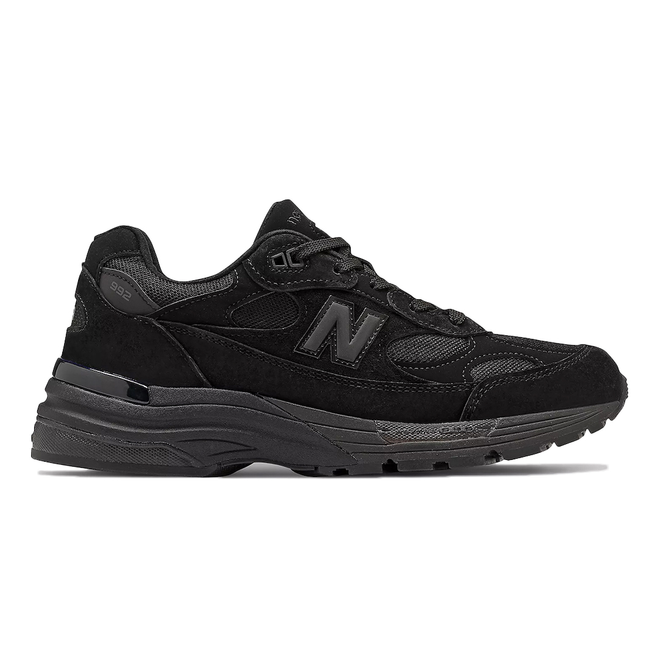New Balance 992 Triple Black