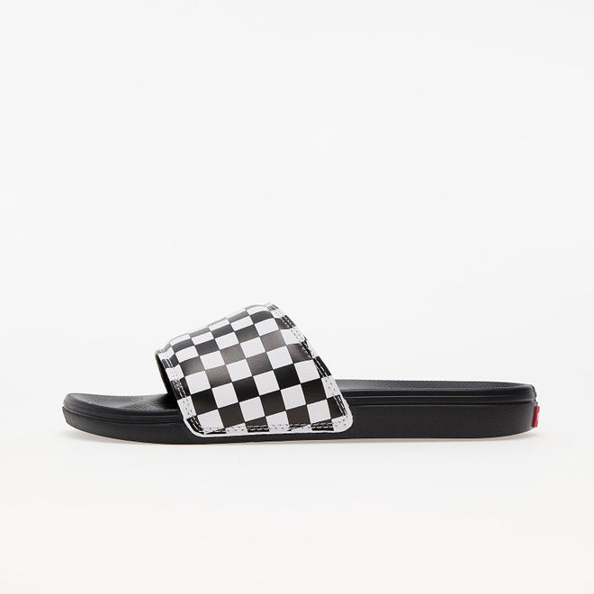 Vans La Costa Slide-On (Checkerboard) True White/ Black