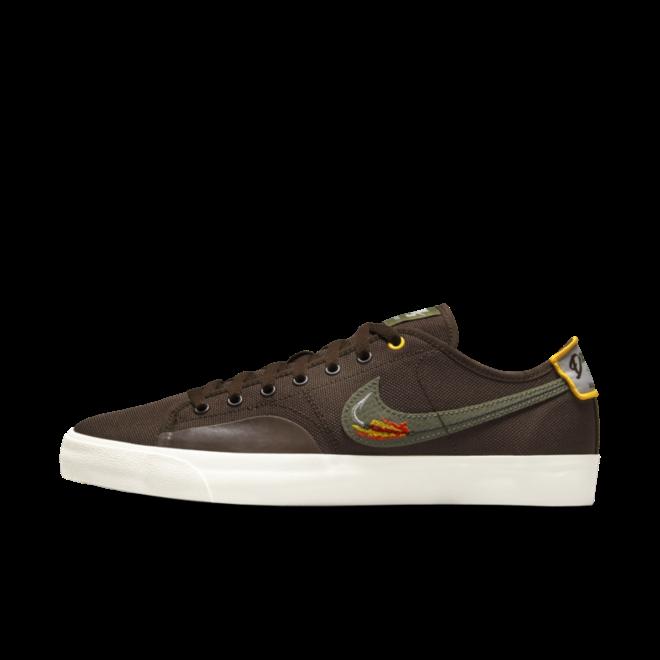 Daan van der Linden X Nike SB Blazer Court 'Baroque Brown' CZ5605-200
