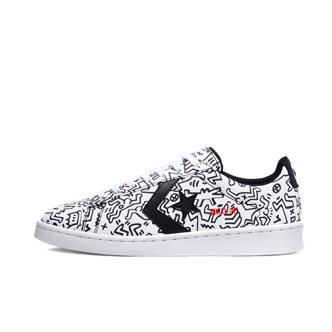 Keith Haring X Converse Pro Leather Low 'All Over'