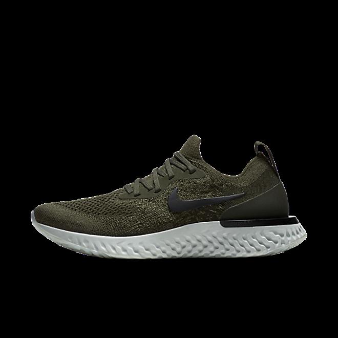 Nike WMNS Epic React Flyknit 'Cargo' zijaanzicht