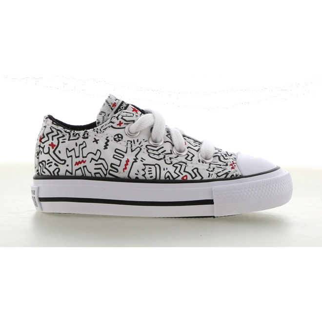 Converse x Keith Haring Chuck Taylor All Star Low Top voor peuters