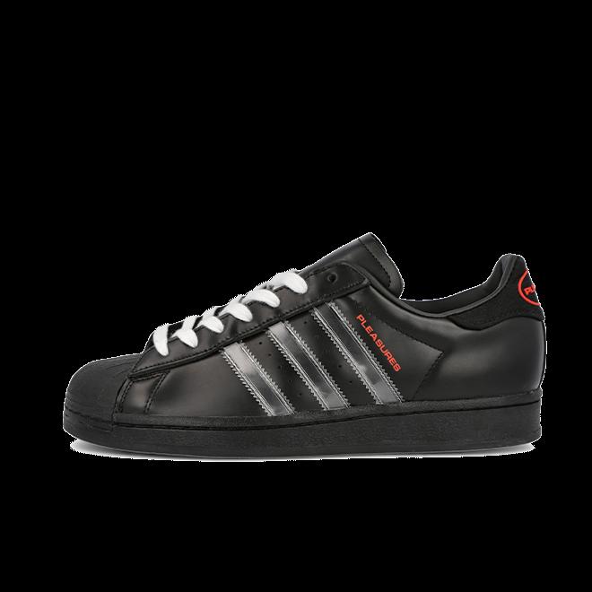 PLEASURES X adidas Superstar 'Black'