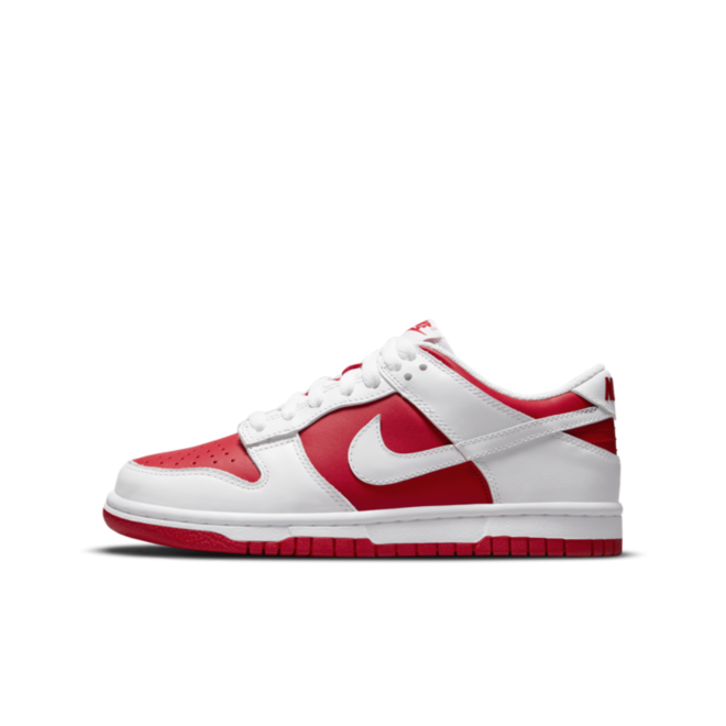 Nike Dunk Low 'Red/White'