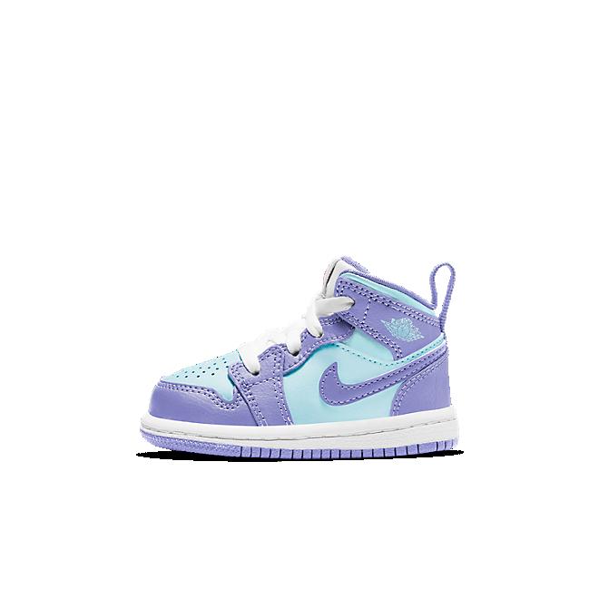 Jordan 1 Mid Purple Aqua (TD)