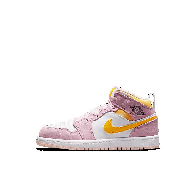 Jordan 1 Mid SE Arctic Pink (PS)