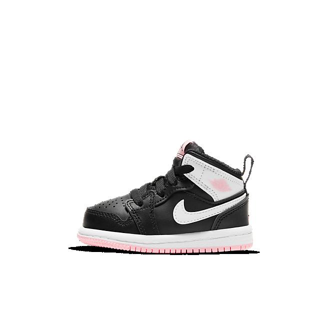 Jordan 1 Mid White Black Light Arctic Pink (TD)