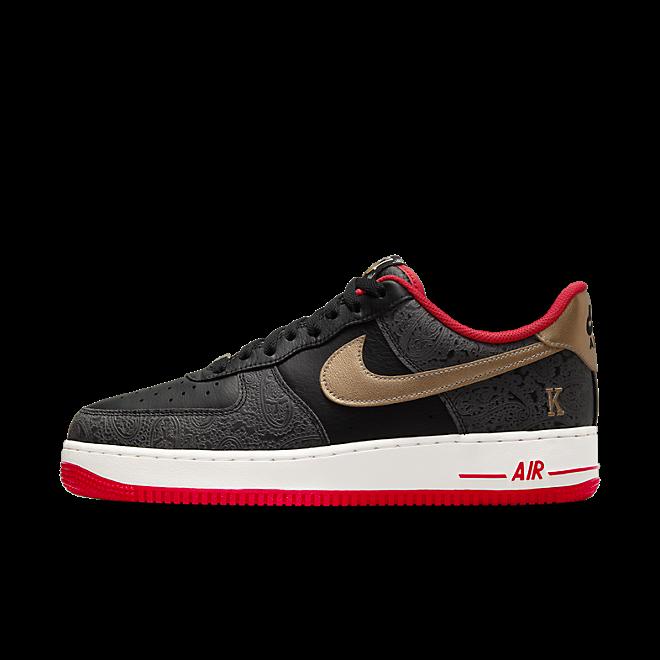 Nike Air Force 1 Low Spades zijaanzicht
